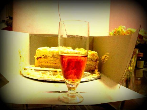 The wine :)
