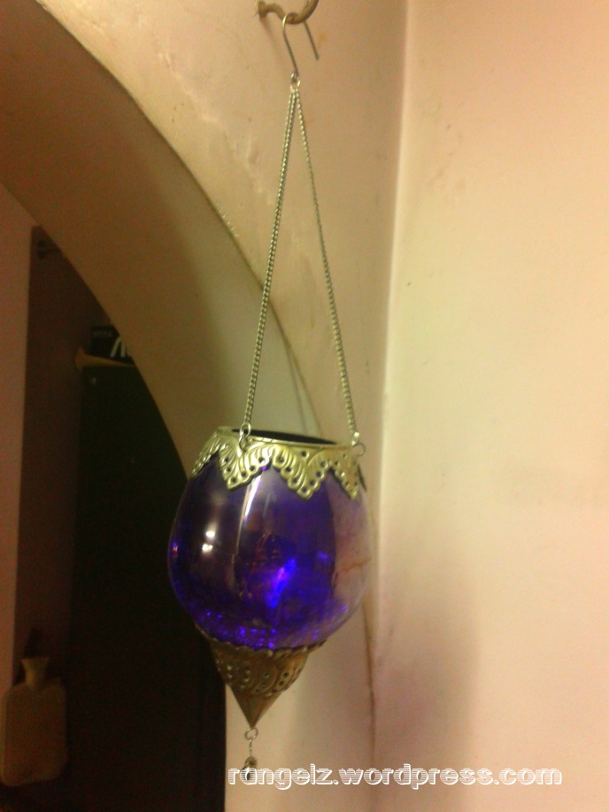 My beautiful purple hanging stand