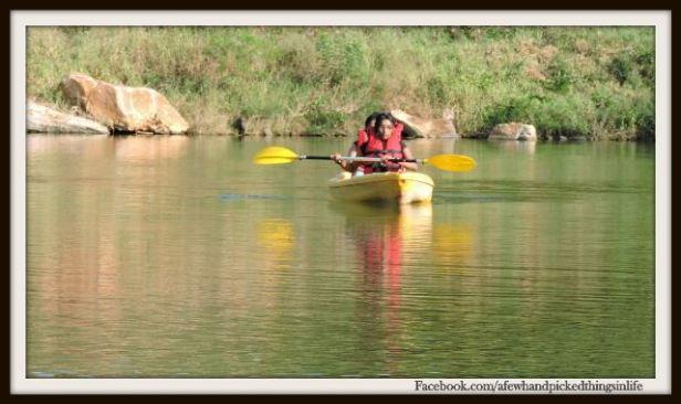 Kayaking at Urban Valley