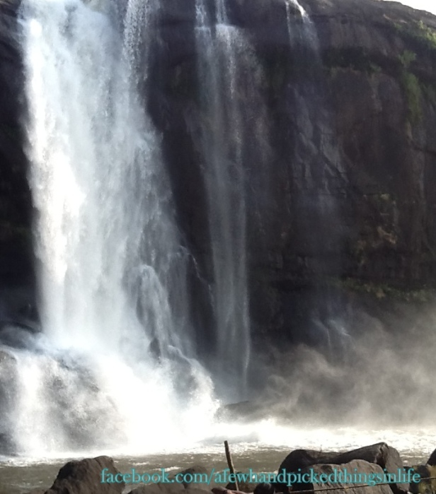 The mighty misty waterfalls