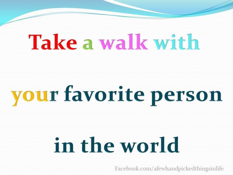 Walk with Yourself