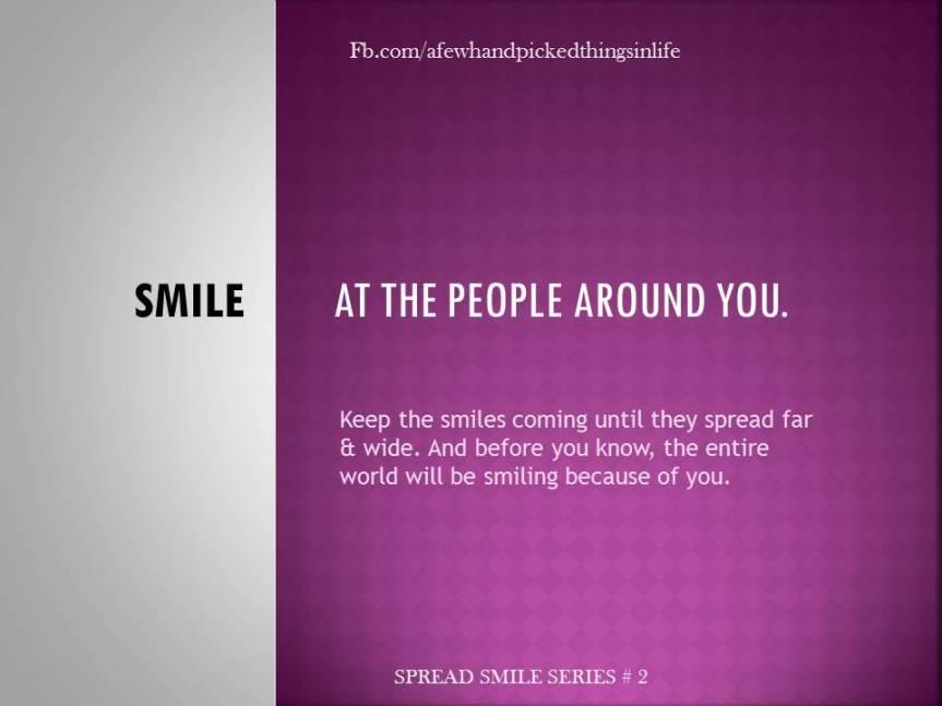 Spread Smile Series #2