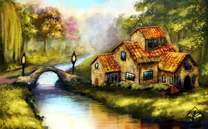 riverside-cottage-wallpaper-1