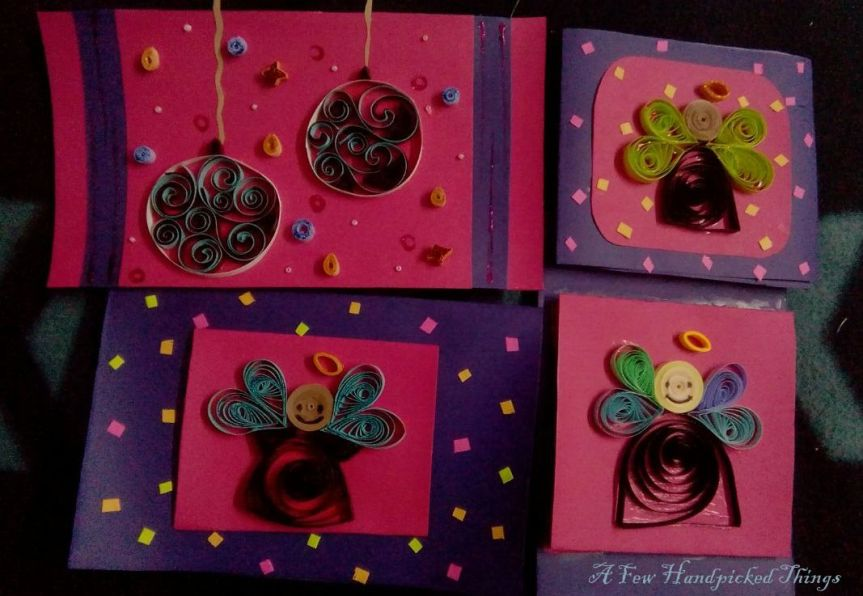 My creations in Quilled Greetings