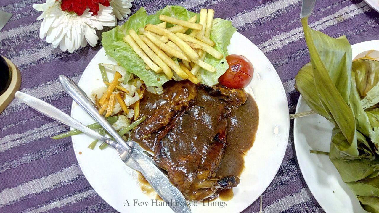 Chicken Steak from Aangan Downtown