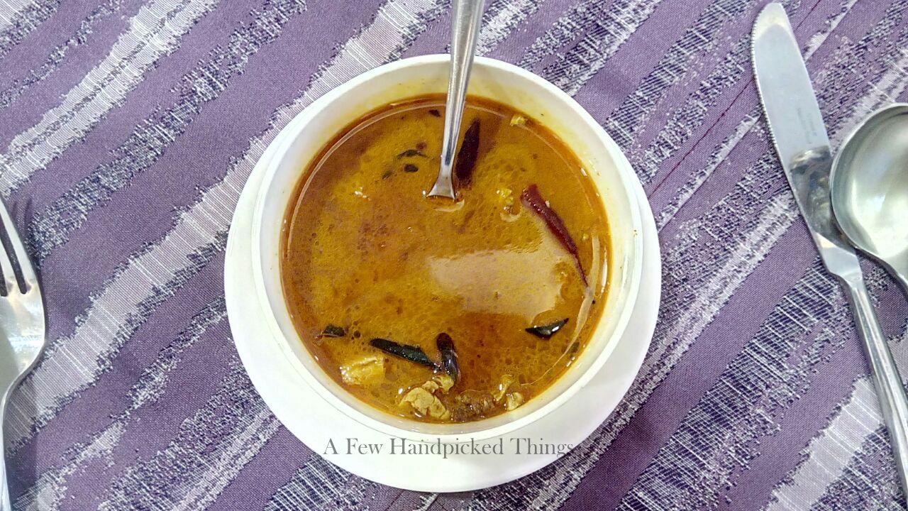 Naadan Kozhi Soup from Aangan Downtown Restaurant