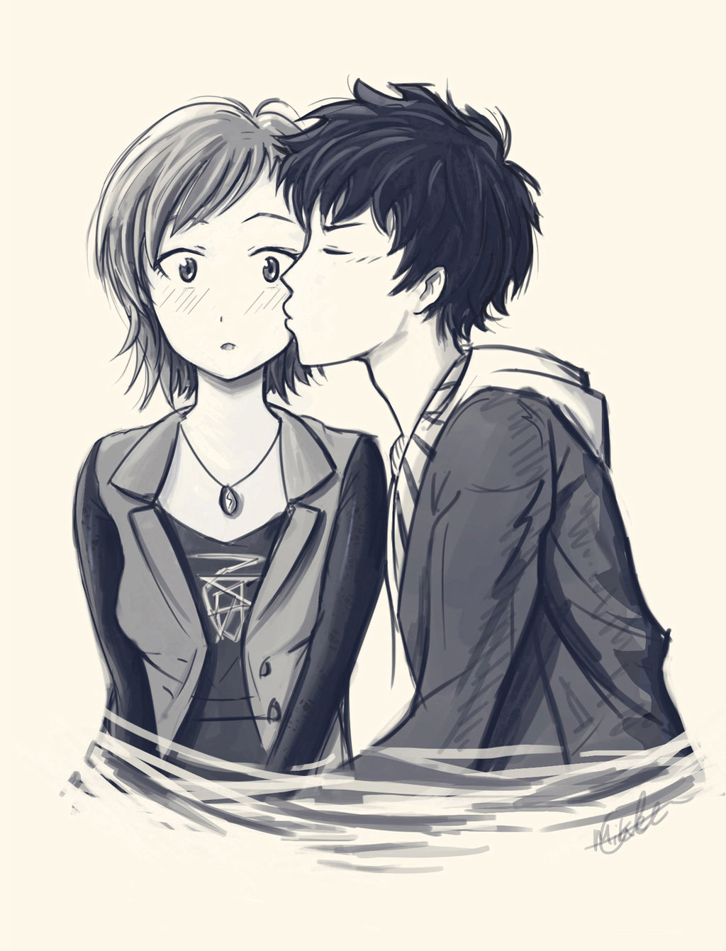 Some Inappropriate Things - A Kiss