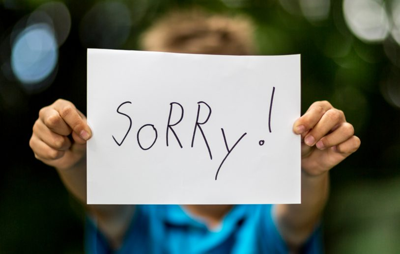 The Art of Apology