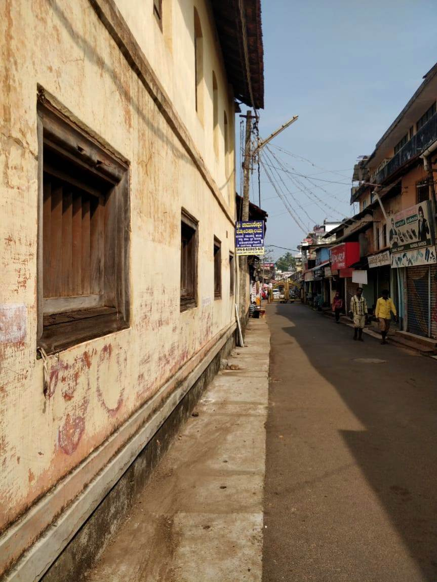 Streets of Udupi with its old world charm - no filter