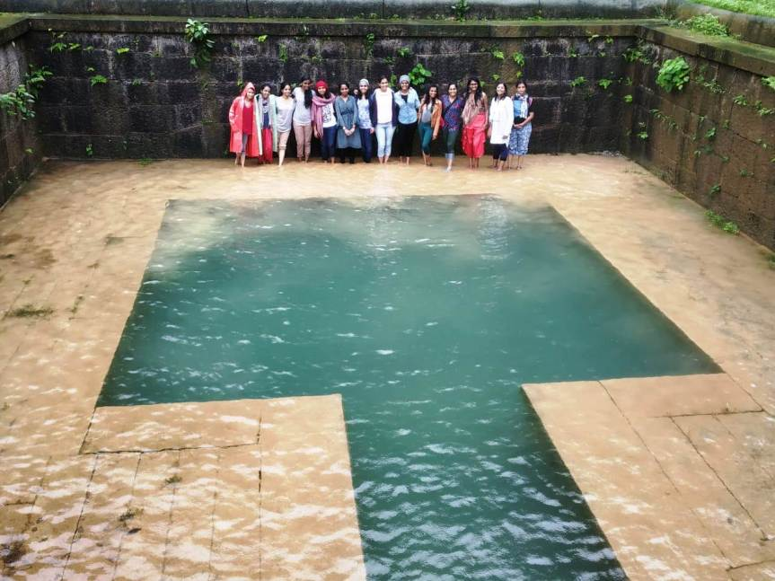 Pool at the Kavaledurga Fort