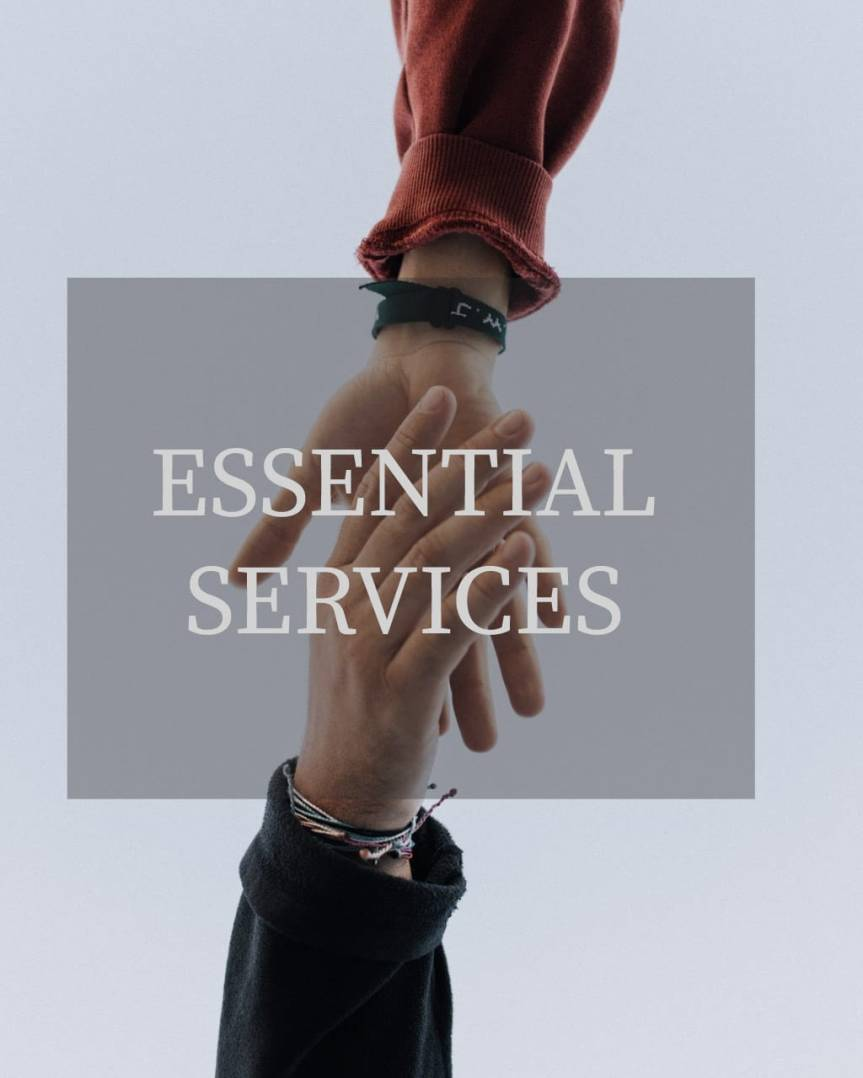 What Comes to Your Mind When I Say Essential Services?
