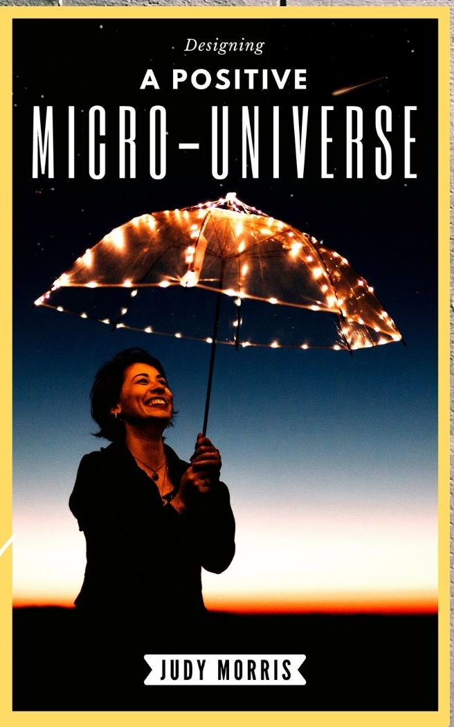 BOOK REVIEW – DESIGNING A POSITIVE MICRO-UNIVERSE BY JUDY MORRIS
